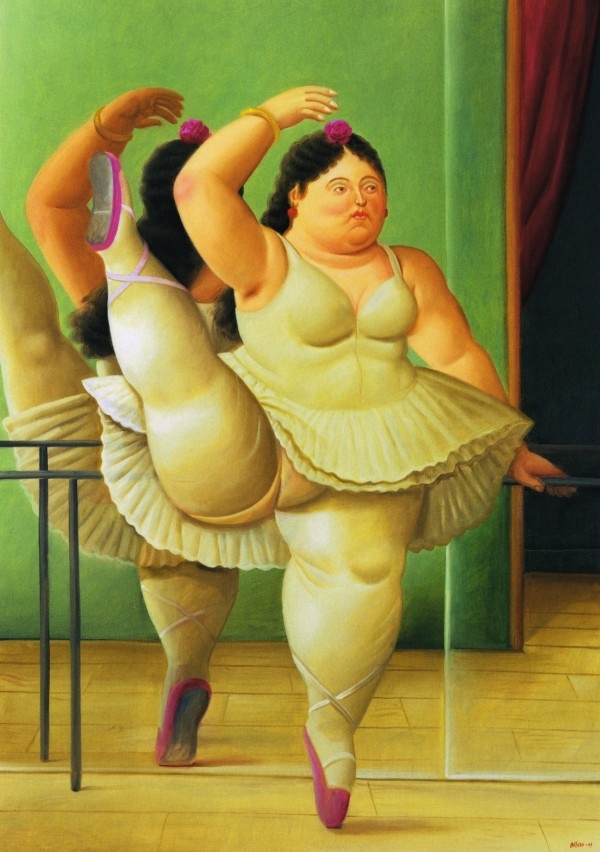 Botero_Dancer by the bar